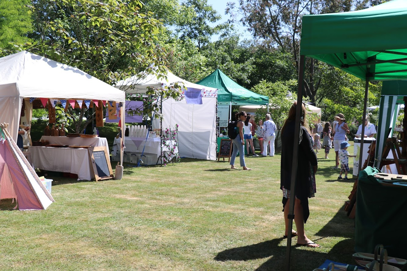 Wealden Literary Fair Boldshaves Garden Woodchurch
