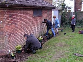 Photo: Planting on the Recreation Ground November 2007
