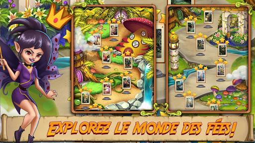 Solitaire Quest - Elven Wonderland Story APK MOD (Astuce) screenshots 2