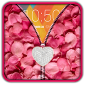Rose Petals Zipper UnLock