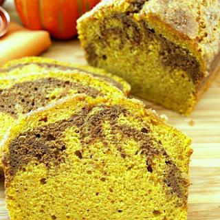 Marbled Pumpkin Pound Cake