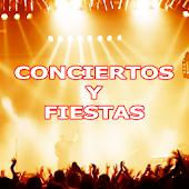 Conciertos y Fiestas