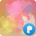 Watercolor Launcher Theme icon