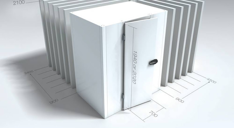 Koelcel BXLXH 120x450x202 cm