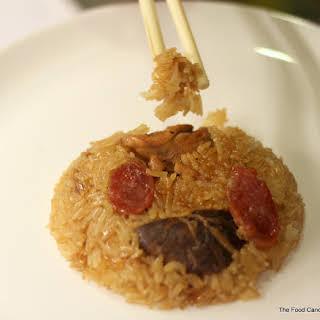 Auntie Ruby's Loh Mai Kai - Steamed Glutinous Rice with  Chicken.