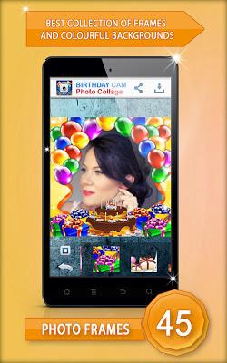 Birthday Cam Photo Collage - screenshot