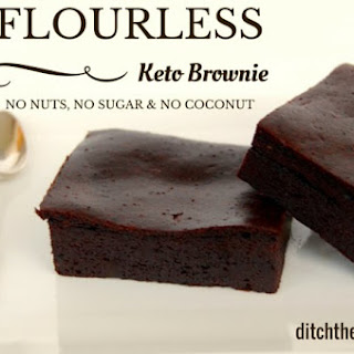 Flourless Keto Brownie