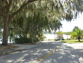 Photo: Lake Otis Drive - our family home is off to the right. Lake Otis is at the end of the street.