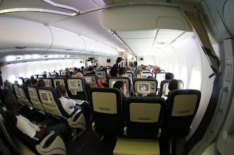 Photo: Cabine A380 Classe Eco