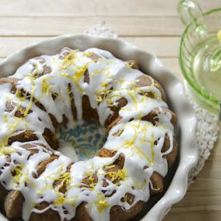 Lemon Pudding Pound Cake.