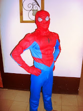Photo: I'm not admitting that Drew is Spider man, but I have never seen the two of them in the same room - ever!
