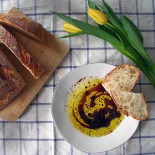 Olive Oil Bread Dip.