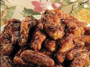 Wing Dings Ginger Wings By Freda Recipe