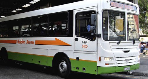 Golden Arrow buses were stoned in the Nyanga area early on Friday. File photo.