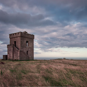 Ardmore Watch Tower 3-08-2017 by John Holmes - Buildings & Architecture Decaying & Abandoned ( ardmore, napoleonic, lookout, old, waterford, defensive, unused, watch tower, ruin, coastal, derliect, ireland )