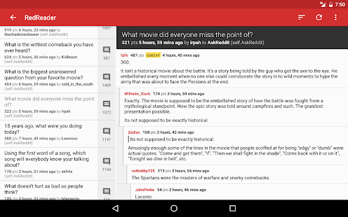 RedReader Screenshot