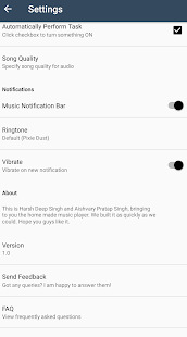 Echo - Music Player - náhled