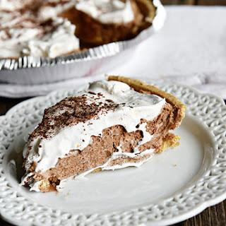 Kelly's French Silk Chocolate Pie.