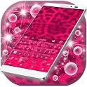 Pink Cheetah Keyboard Theme icon