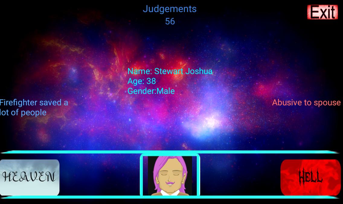 Thanatos: Heaven and Hell - στιγμιότυπο οθόνης