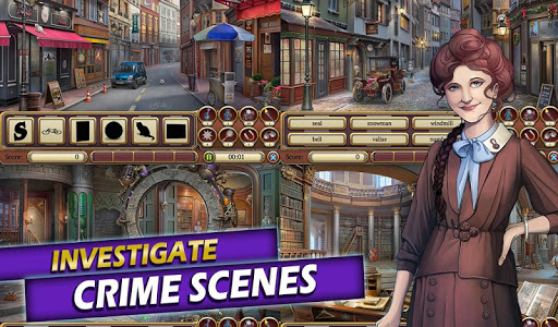 Time Crimes Case: Free Hidden Object Mystery Game 3.77 screenshots 18