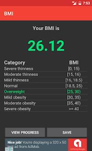 Body Mass Index screenshot 1