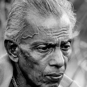 by Sayan Bhattacharya - People Portraits of Men