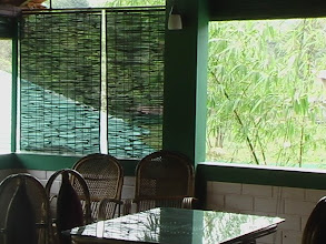 Photo: Uravu Bamboo Blinds at Orchard Homes, Lakkidi