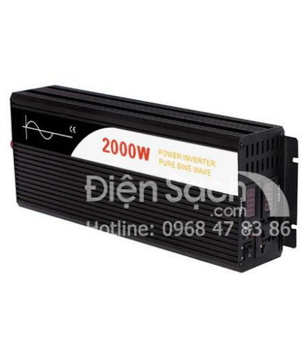 Kích điện Sin chuẩn 12V/24V/48V 2000W SWIPOWER
