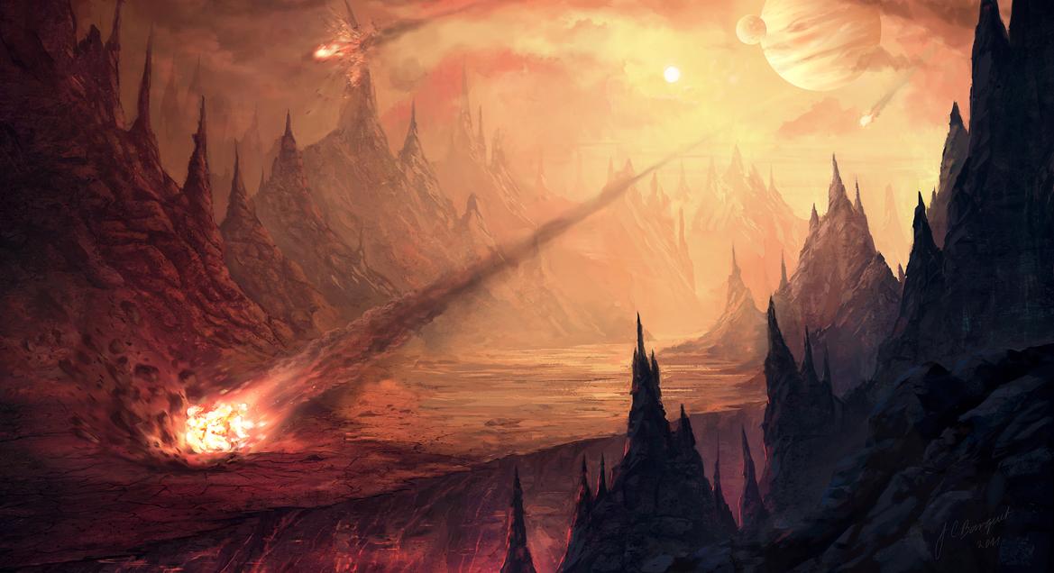 Image result for meteor art