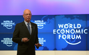 Photo: DAVOS/SWITZERLAND, 24JAN12 - Klaus Schwab, Founder and Executive Chairman of the World Economic Forum captured during the session 'The World Economic Forum's Vision and Mission' at the Annual Meeting 2012 of the World Economic Forum at the congress centre in Davos, Switzerland, January 24, 2012.  Copyright by World Economic Forum swiss-image.ch/Photo by Remy Steinegger