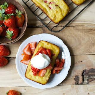 Strawberry Shortcake Bread.