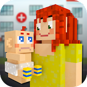 Baby Hospital Craft: Newborn Care. Doctor Games