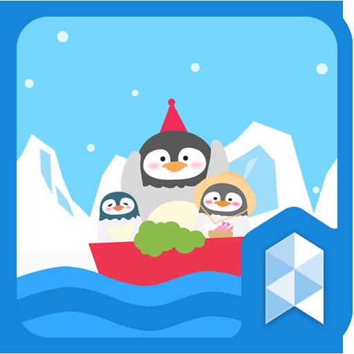 Journey of penguin theme