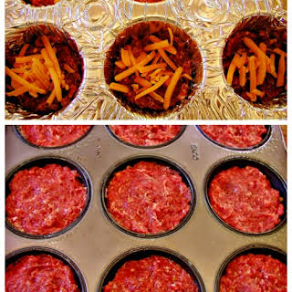 Grain Free Cheese Filled Mini Meatloaf.