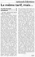 Photo: 05-12-2010 Yutz-Thionville s'incline logiquement face à Rixheim 0-3
