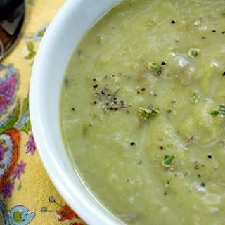 Creamy Asparagus Leek Soup