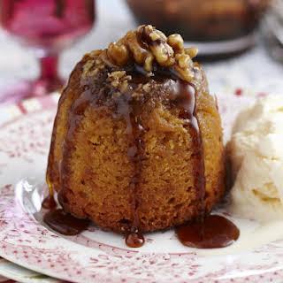 Honey Cakes with Walnut Syrup.