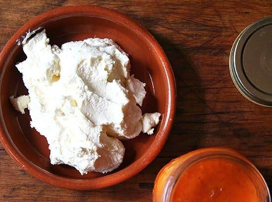 Ina Garten's Homemade Ricotta Cheese Recipe