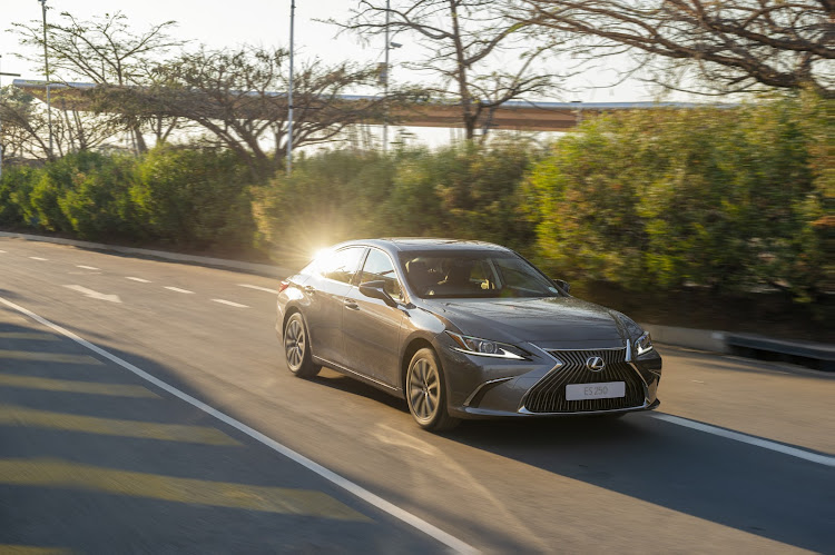 A modern redesign gives the new Lexus ES far more styling shine than its conservative predecessor. Picture: SUPPLIED