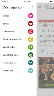 saludmóvil for Android- screenshot thumbnail