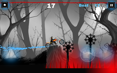 Moto Negra Screenshot