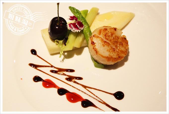家蒂諾鐵板燒-北海道生鮮干貝