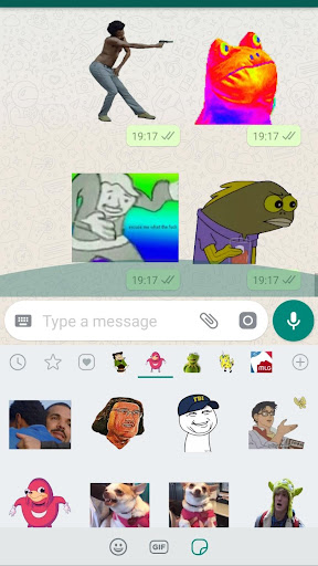Meme Stickers for WhatsApp 4.0.0 screenshots 3
