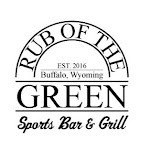Logo for Rub of the Green Sports Bar & Grill