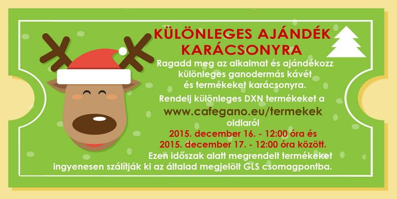 Különleges DXN Ajándék karácsonyra