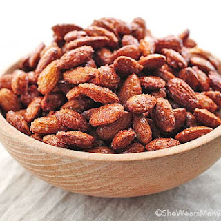 Candied Almonds.