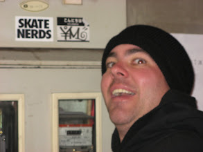 Photo: Yup..he's a skate nerd.