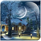 Winter Village 3D Live Wallpap icon