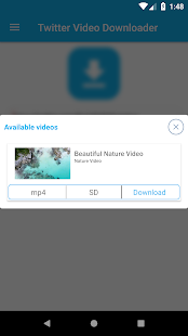 App Twitter Video Downloader APK for Windows Phone